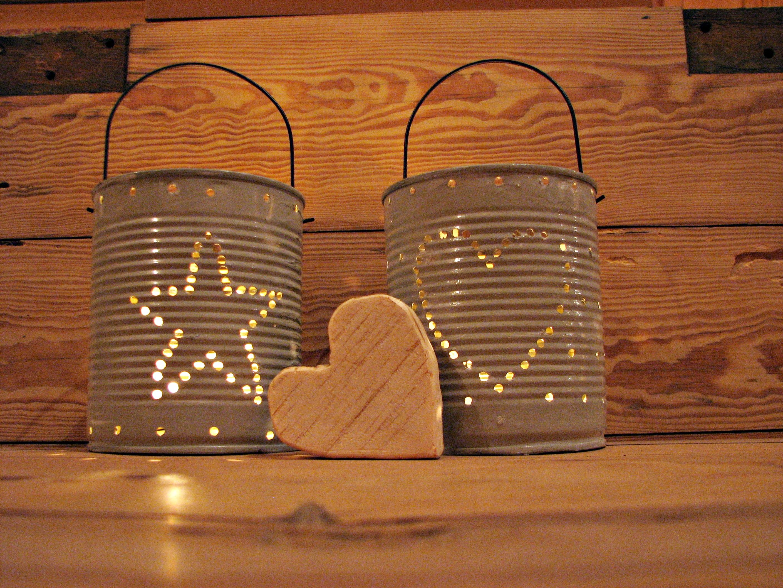 Świeczniki z puszki