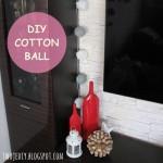 Cotton ball diy