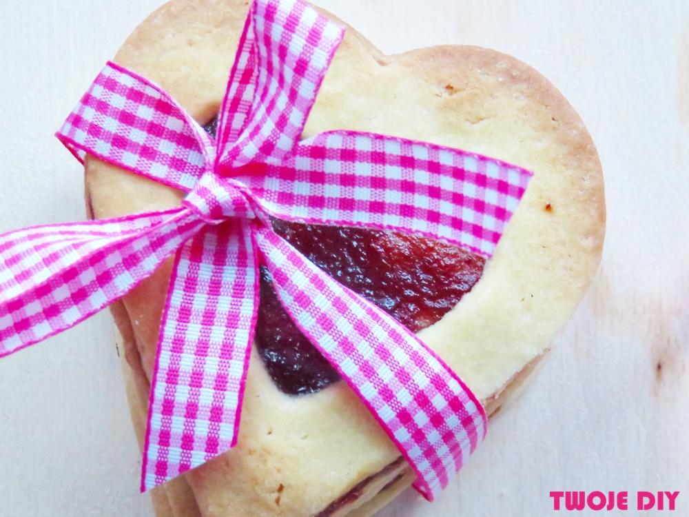 ciasteczka w kształcie serca