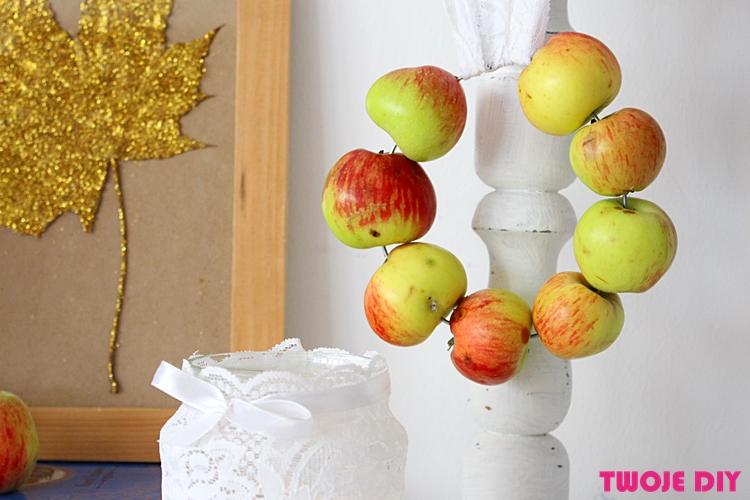 wianek z jablek