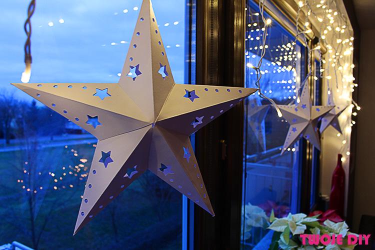Papierowa gwiazda a'la IKEA