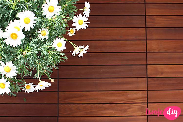 drewniana podłoga na balkon Gumi Taras