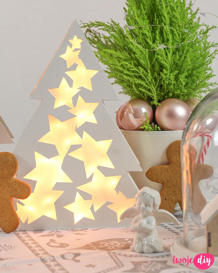 Świecące dekoracje DIY