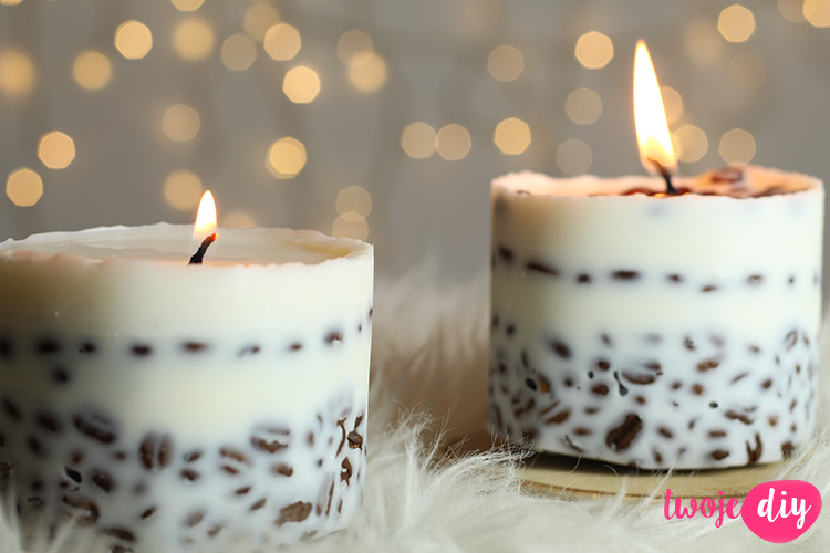 Kawowe świeczki