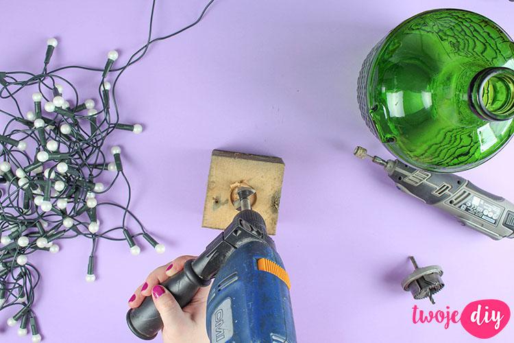 loftowa lampka z butelki 1