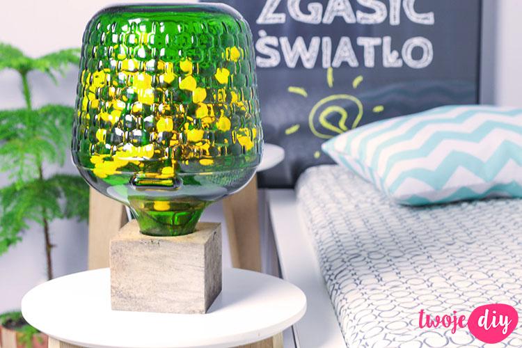 loftowa lampka z butelki 10