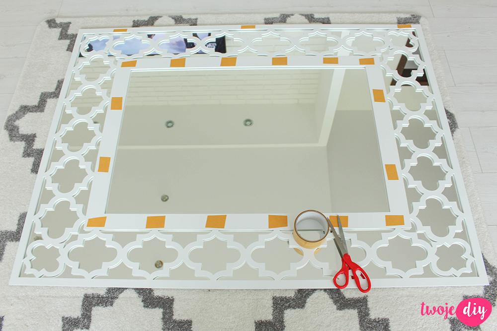 Marokańskie lustro DIY