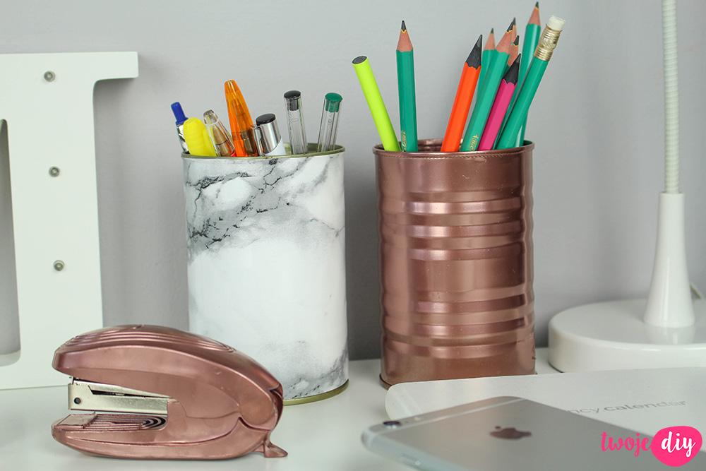 Eleganckie dodatki na biurko