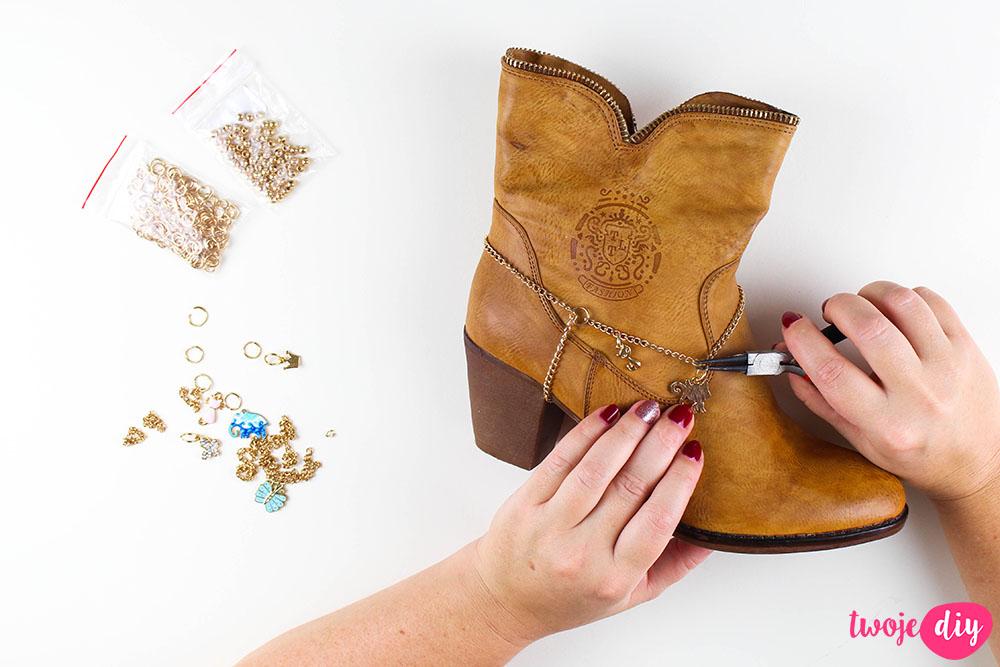 Biżuteria dla butów