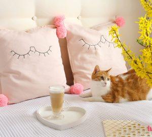 Jak ozdobić poduszki
