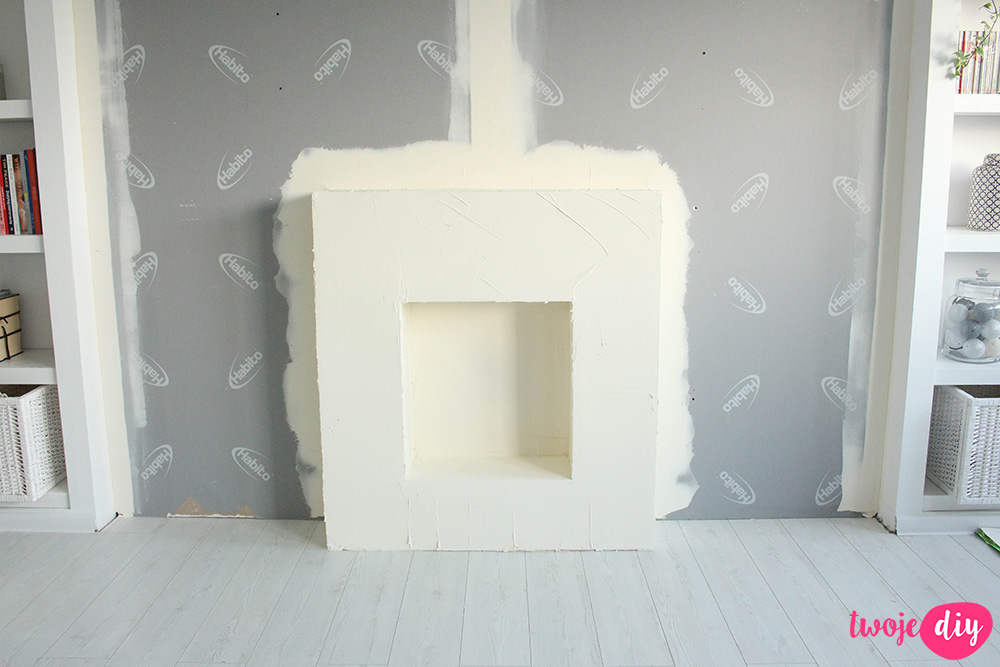 Jak zrobić kominek z płyt gipsowo-kartonowych