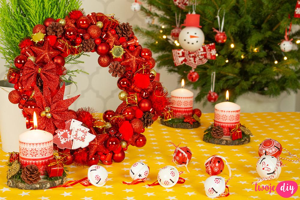 dekoracje świąteczne DIY z PEPCO