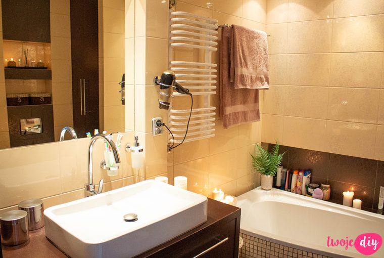 Akcesoria łazienkowe bez wiercenia