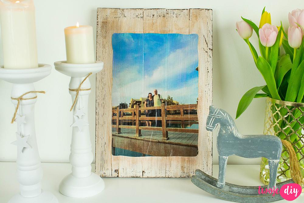 obraz ze zdjęciem DIY