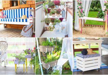 pomysłów DIY na balkon lub taras
