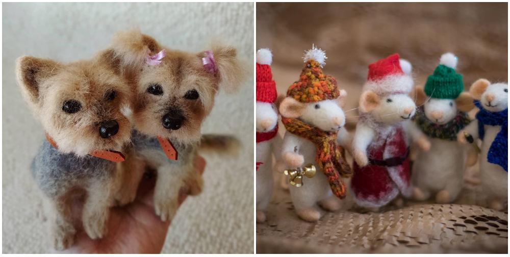prezenty handmade na święta