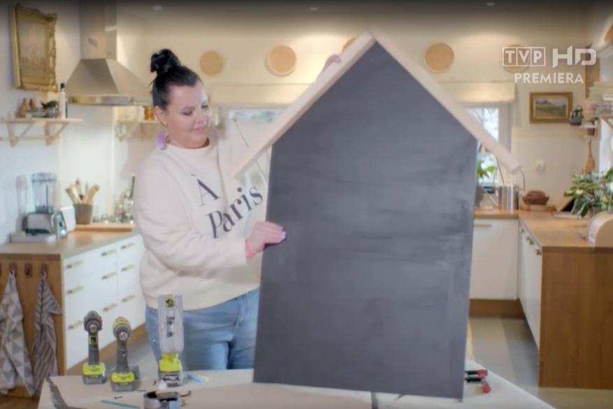 tablica domek DIY