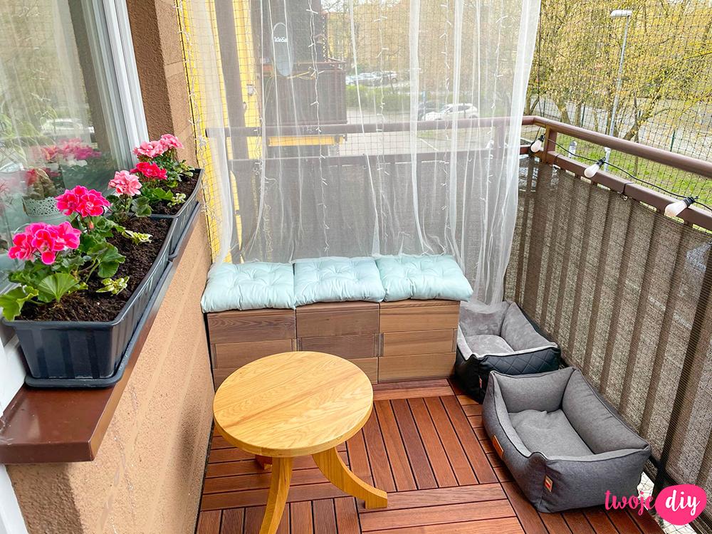 Metamorfoza balkonu w bloku