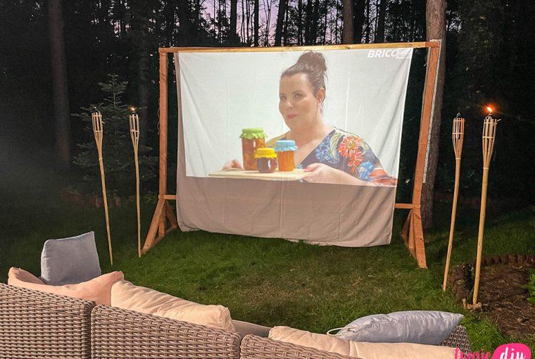 Kino ogrodowe DIY